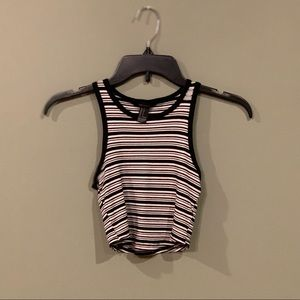 5 for $25 - Striped Crop Top